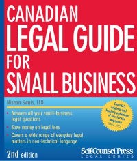Canadian Legal Guide for Small Business Cover