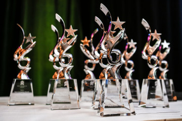 SBBC Awards Statuettes
