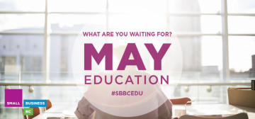 What are you waiting for? May education promotion.