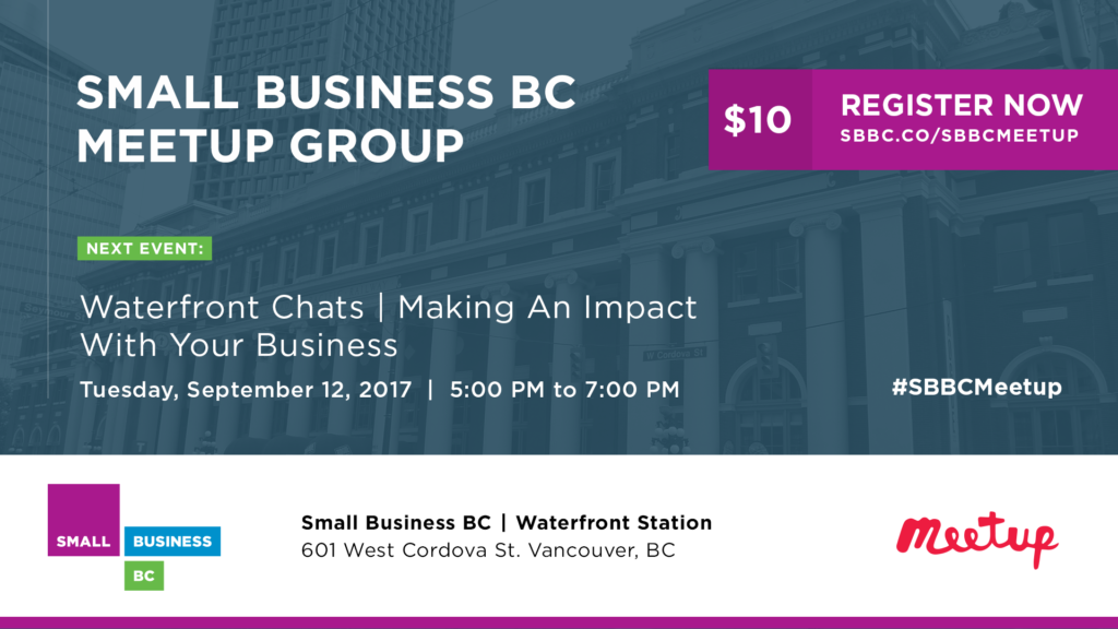 Small Business BC September Meetup