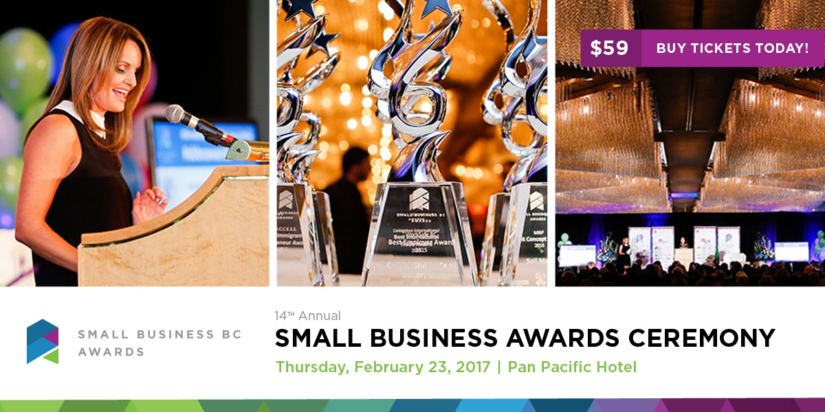 Small Business BC Awards Header 2017