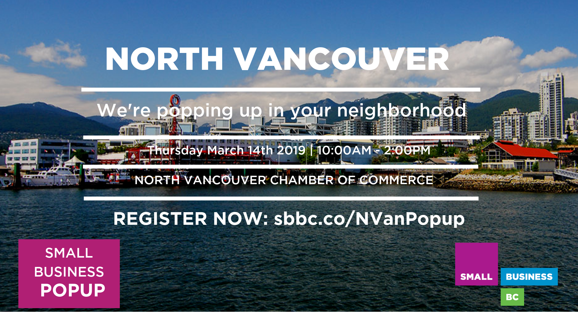 North Vancouver Popup
