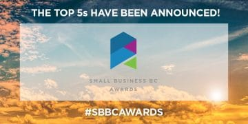 Top 5 Small Business BC Awards 2019